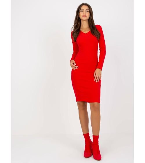 Legginsy Model Kaia Deep Jeans - Bas Bleu