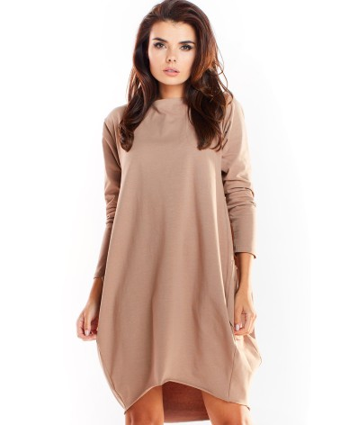 Sukienka Model MOE435 Grey - Moe