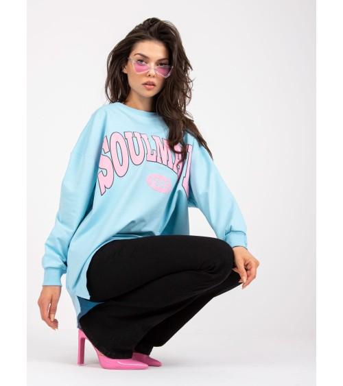 Sukienka Komplet Model M605 Blue - Figl
