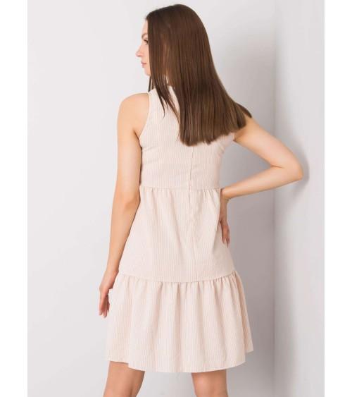 Szlafrok Damski Model Bianca Powder Pink - Babella