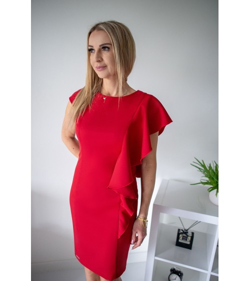 Sukienka Model S25 Mocca - Nife