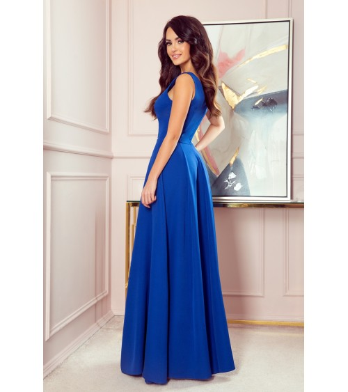 Sukienka Model MOE418 Powder Pink/Ecru - Moe
