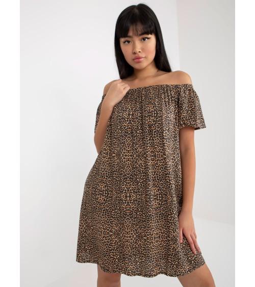 Sukienka Model T208/5 Red - Tessita