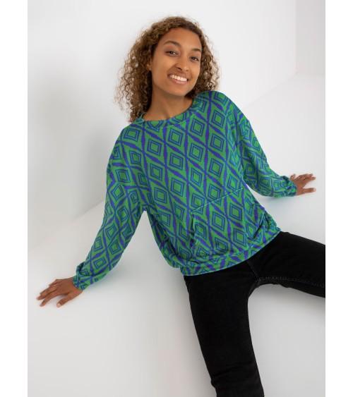 Sweter Damski Model BK007 Model 1 Multicolor - BE Knit