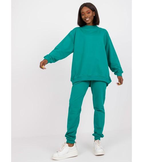 Sweter Damski Model BK038 Antracyt - BE Knit