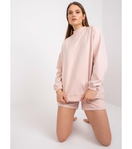 Sweter Kardigan Model BK067 Popiel - BE Knit