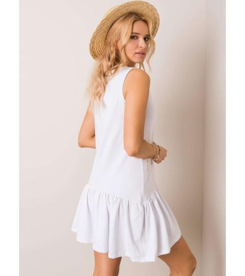 Sweter Damski Model BK001 Powder Pink Melange - BE Knit