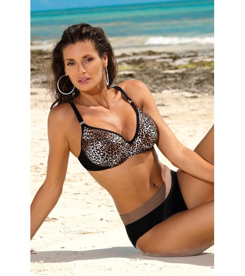 Sweter Damski Model BK001 Grey Melange - BE Knit