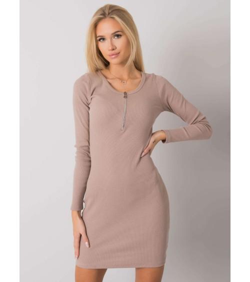 Jednoczęściowy strój kąpielowy Kostium kąpielowy Model Belinda Origami M-548 Pastel Pink - Marko