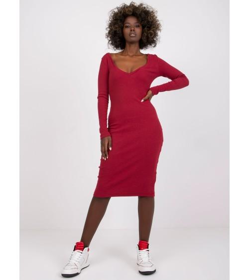 Sweter Damski Model BK009 Antracyt - BE Knit