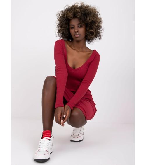 Sweter Kardigan Model BK011 Model 3 Orange - BE Knit