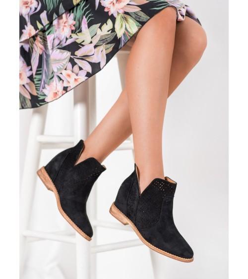 Sweter Damski Model BK024 Navy - BE Knit
