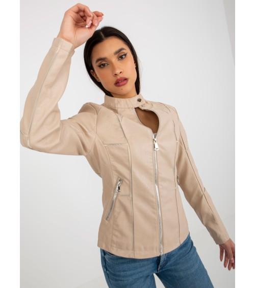 Sweter Damski Model BK069 Popiel - BE Knit