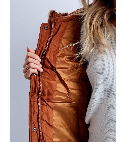 Portfel skórzany UNISEX Vintage P41 Brown - Verosoft