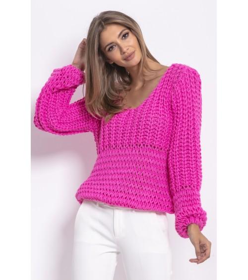 Sweter Kardigan Model SWE225 Pastel Pink - MKM