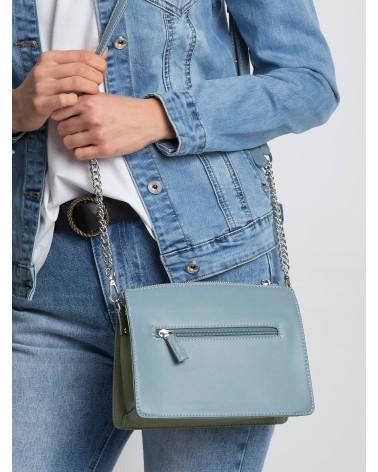 Sweter Damski Model BK018 Popiel - BE Knit