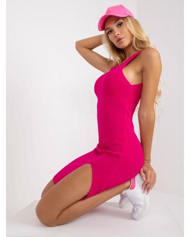 Sweter Kardigan Model LS337 Powder Pink - Lemoniade