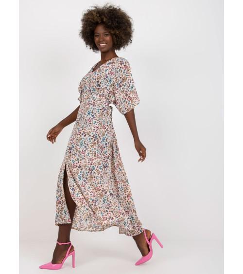 Sweter Szare kimono we wzór Z40 Grey - Nife