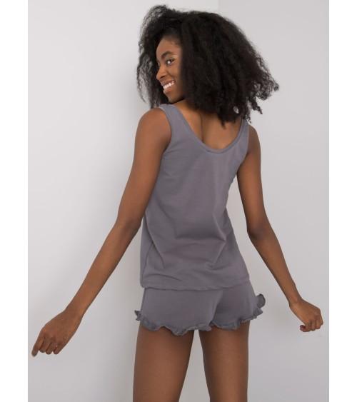 Jednoczęściowy strój kąpielowy Kostium kąpielowy Model Capri Brown - Ewlon