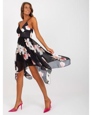 Sweter Czarne kimono Z39 Black - Nife