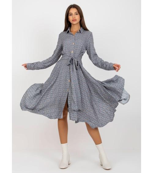 Sweter Kardigan Model MOE474 Grey - Moe
