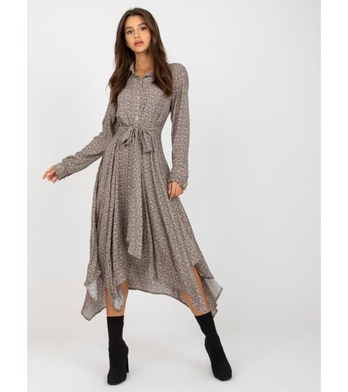 Sweter Kardigan Model BK053 Camel - BE Knit