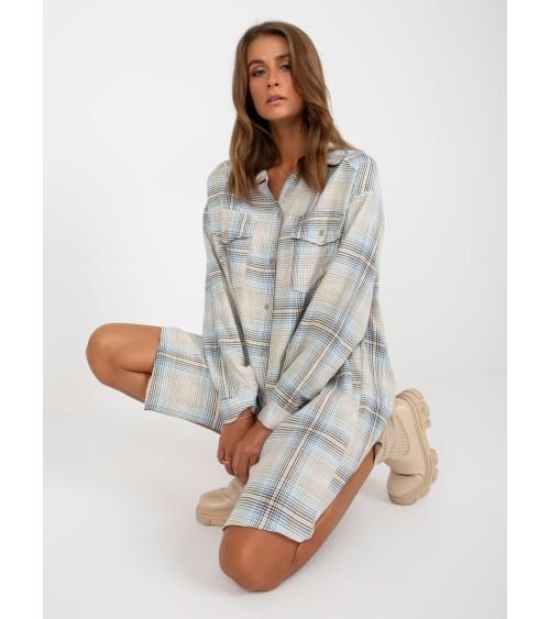 Sweter Kardigan Model BK053 Grey - BE Knit