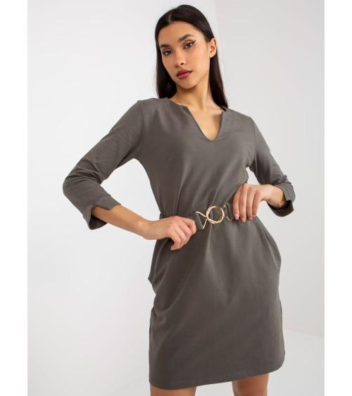 Sweter Kardigan Model LSG107 Light Grey - Lemoniade