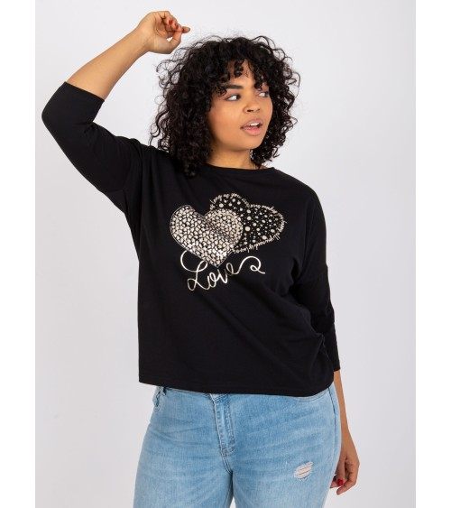 Sweter Damski Model Cindy Gold Buttons MCY02693 Flamingo - Vittoria Ventini