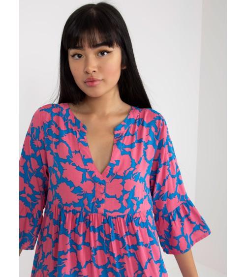 Sweter Kardigan Model BK034 Szafir - BE Knit