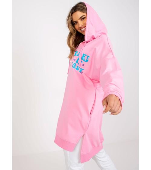 Sweter Damski Model PA003 Pink - MKM