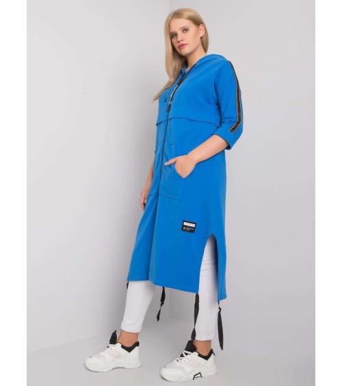 Sweter Kardigan Model MOE555 Ecru - Moe