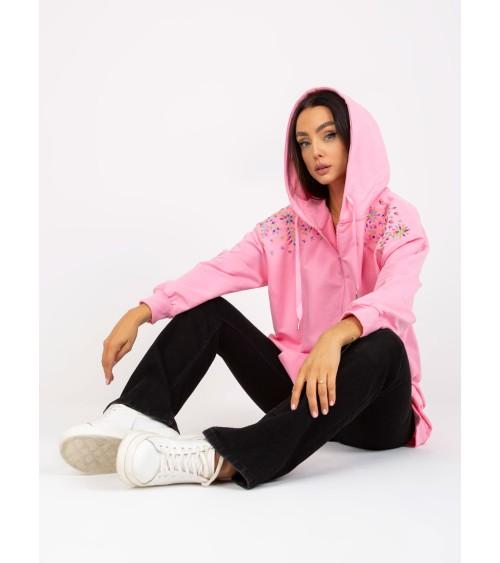 Sweter Damski Model BK047 Limonka - BE Knit