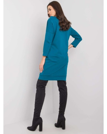 Sweter Ponczo Model BK049 Black - BE Knit