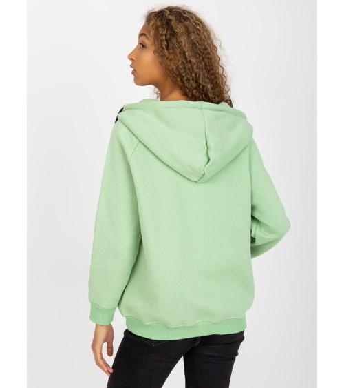 Sweter Ponczo Model BK049 Antracyt - BE Knit