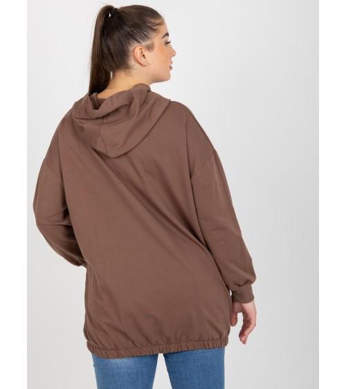 Sweter Kardigan Model MOE594 Mocca - Moe