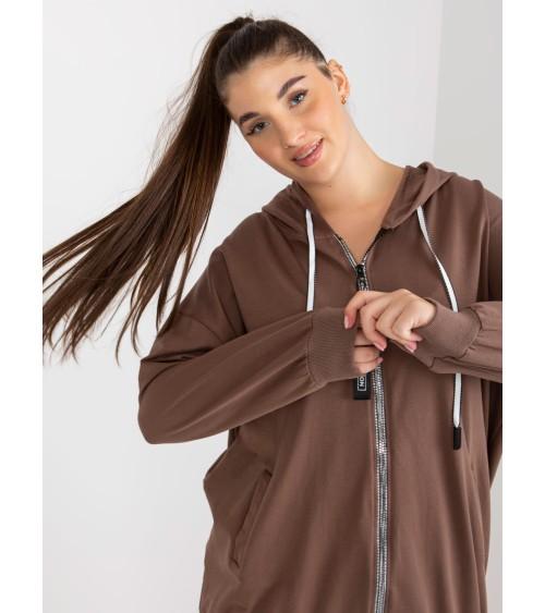 Sweter Kardigan Model MOE594 Lila - Moe