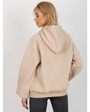 Sweter Kardigan Model BK063 Śliwka - BE Knit