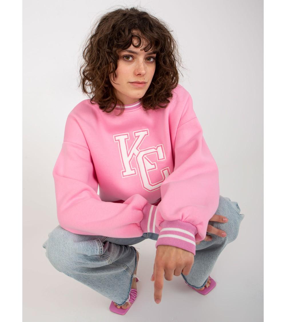 Sweter Kardigan Model BK040 Model 4 - BE Knit