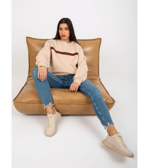 Sweter Kardigan Model MOE467 Honey - Moe