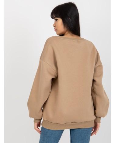 Sweter Kardigan Model BK013 Black - BE Knit
