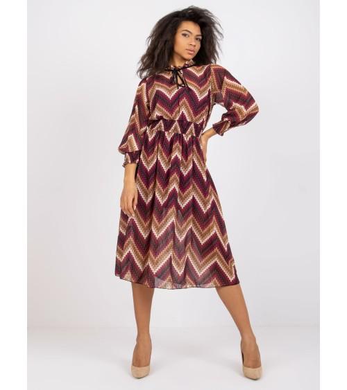 Golf Damski Model BK030 Carmel - BE Knit
