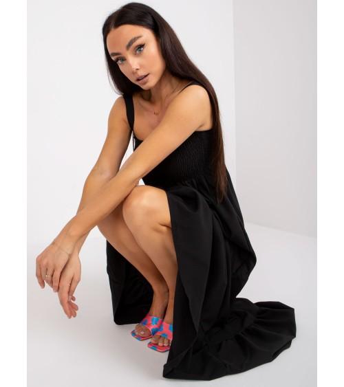 Duży plecak skórzany Vintage P40 + Portfel z naturalnej skóry juchtowej Vintage P21 Black - Verosoft