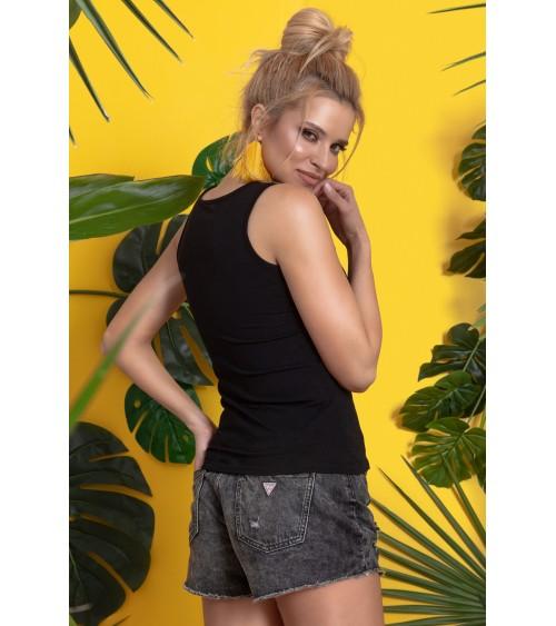 Sukienka Plażow Spódniczka Model Meg Bianco-Maldive M-266 White/Green - Marko