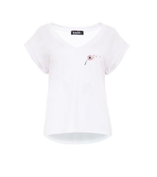 Sukienka Plażow Spódniczka Model Meg Incas-Bianco M-266 Mandarin/White - Marko