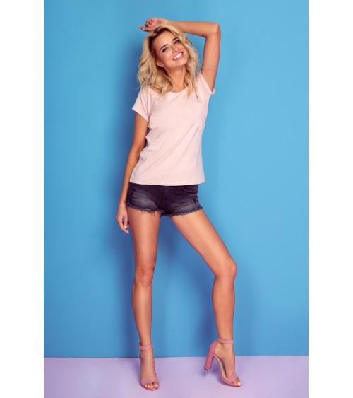 Sukienka Plażow Spódniczka Model Meg Barcellona-Bianco M-266 Light Violet/White - Marko