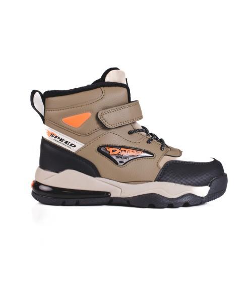 Piżama Męska Model Led 38867-22X Orange/Navy - Henderson