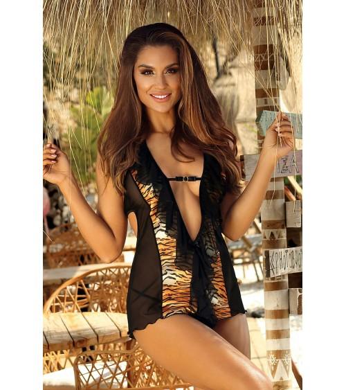 Sweter Damski Model 30070 Yellow - PeeKaBoo
