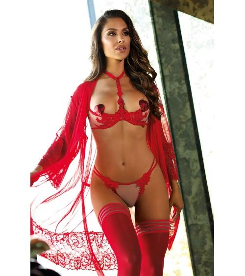 Sweter Ponczo Model 70009 Powder Pink - PeeKaBoo