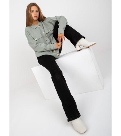 Sweter model 70002C Ice Mint - PeeKaBoo